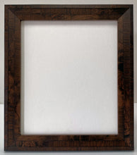 Load image into Gallery viewer, Walnut colour real veneer Wooden Picture Frame (39mm wide)