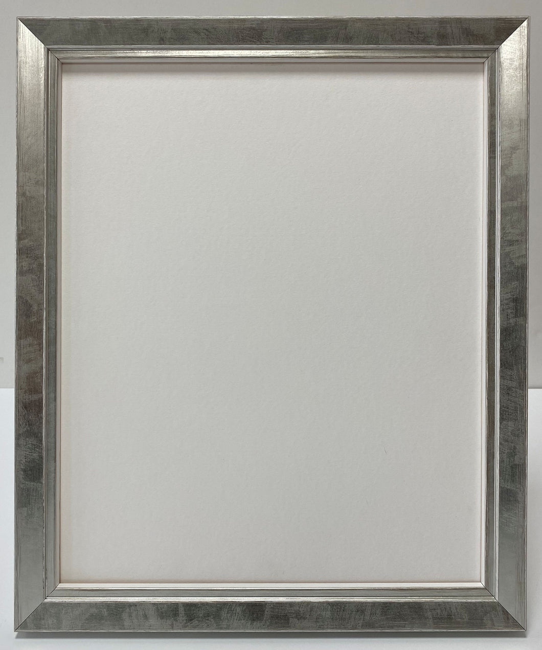 Silver brushed Wooden Picture Frame (22mm wide)