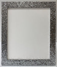 Load image into Gallery viewer, Silver Glitter Picture Frame (32mm wide)