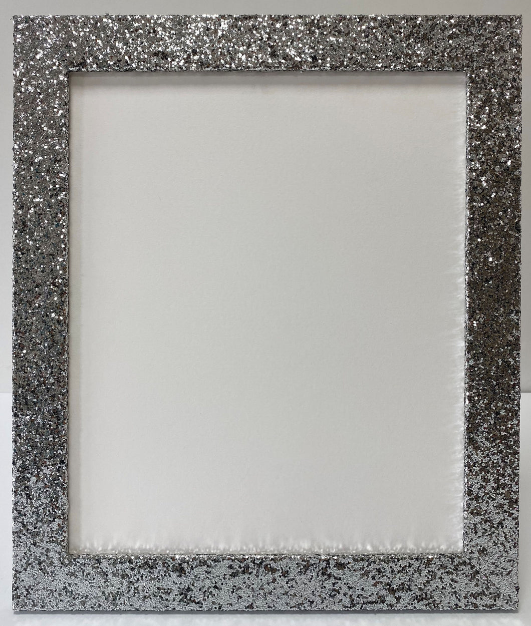 Silver Glitter Picture Frame (32mm wide)