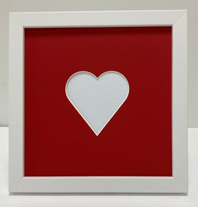 Love heart picture frame
