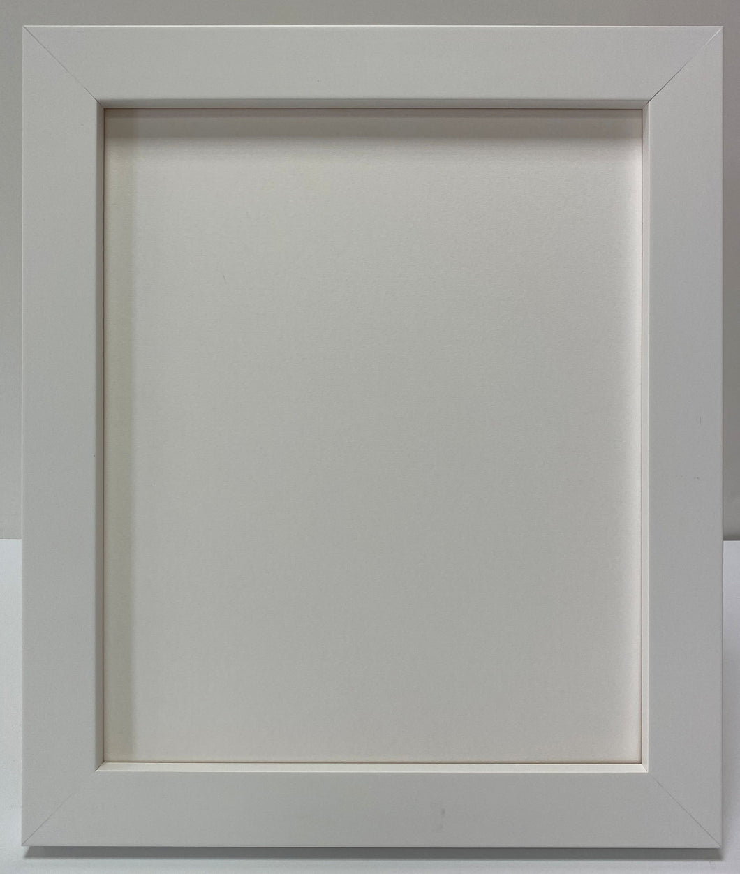 White Box Wooden Picture Frame (33mm wide)
