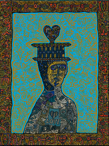 King of my Heart - Kunstdruck klein 70x90cm, ungerahmt (Horst Kordes Art)