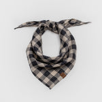 Cloud7 Bandana Check Dark Blue - Beige