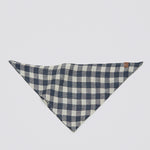 Cloud7 Bandana Check Dark Blue - Beige Halstuch
