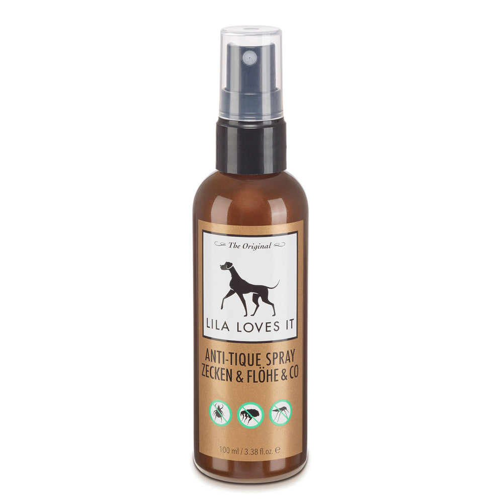 LILA LOVES IT Anti-Zecken-Spray 100 ml Hunde Zeckenschutz
