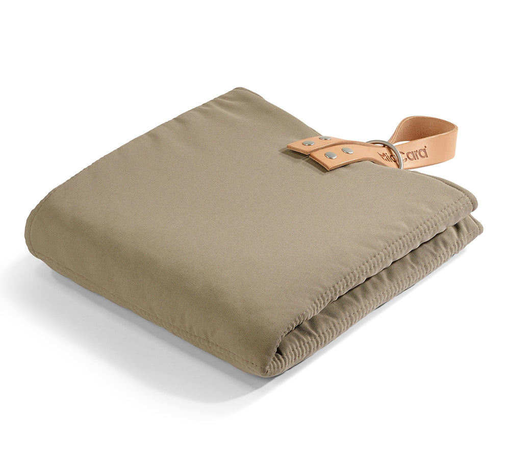 MiaCara Cosmo travelBed Mineral Taupe M