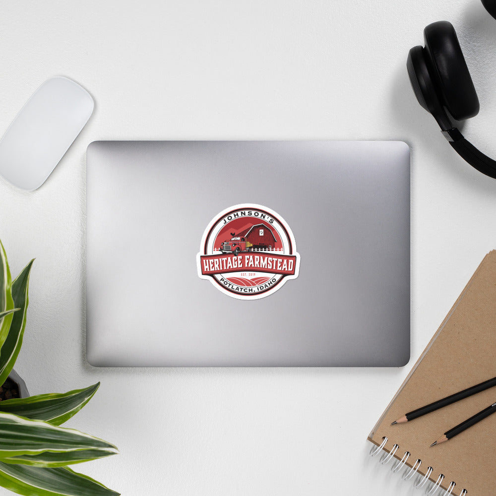 Farmstead Color Logo Stickers