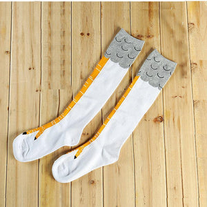 Original Chicken Legs Socks (1 Pair ) - Novelty Socks Funny Gift