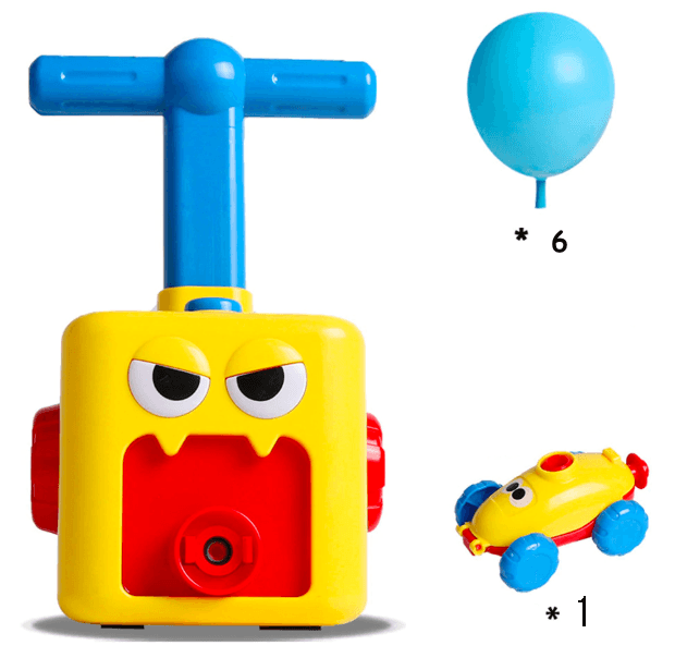 The Newest Toy 2020----Power Balloon Car Toy