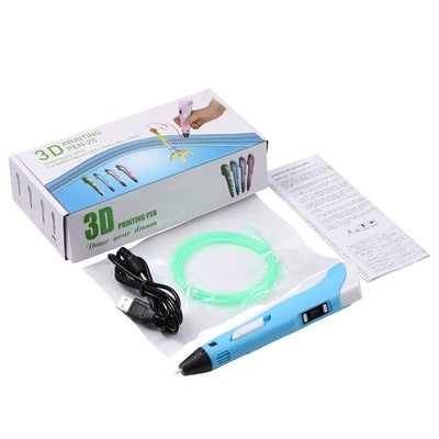 Safe digital 3d printing pen for kid 3d pen
