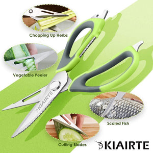Multifunctional 7 in 1 stainless steel magnetic scissors
