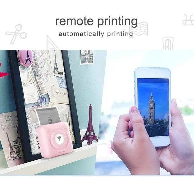 Christmas Sale-Inkless Pocket Printer Limited Edition