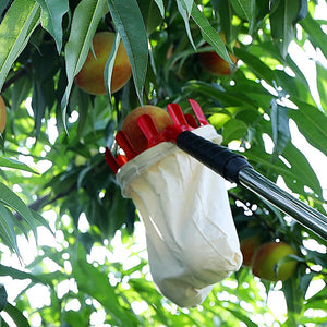 Metal Fruit Picker(Suitable for: home, orchard, park, farm, garden, etc)