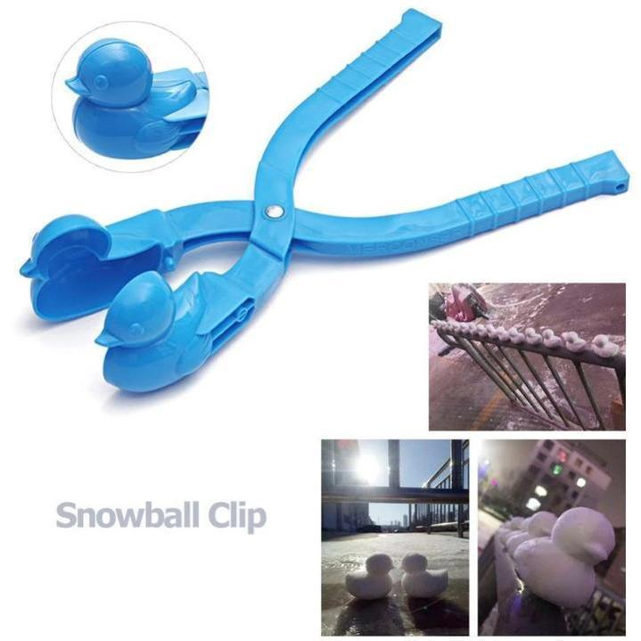 Christmas Sale-Winter Duck Snowman Snow Clip