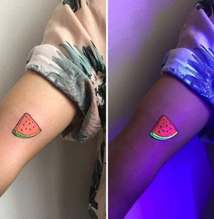 (Last Day Promotion) Fluorescent waterproof cool tattoo stickers