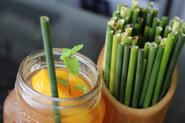 Grass Drinking Straws Are Vietnam's Zero-Waste Option For The Plastic Problem