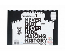 Load image into Gallery viewer, PAOK FC DRAWING PAD