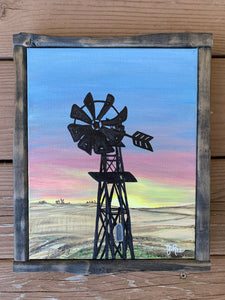 SD Sunset/Windmill