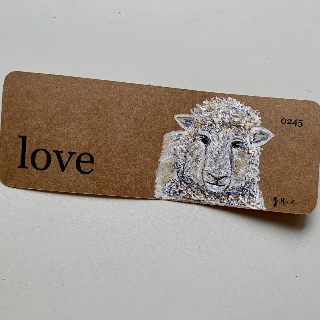 """Love"" Sheep"