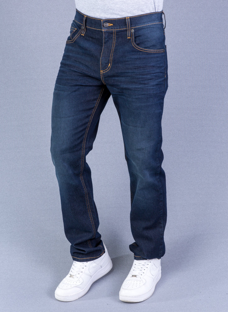 Jean Hombre Regular Color Azul Sostenible