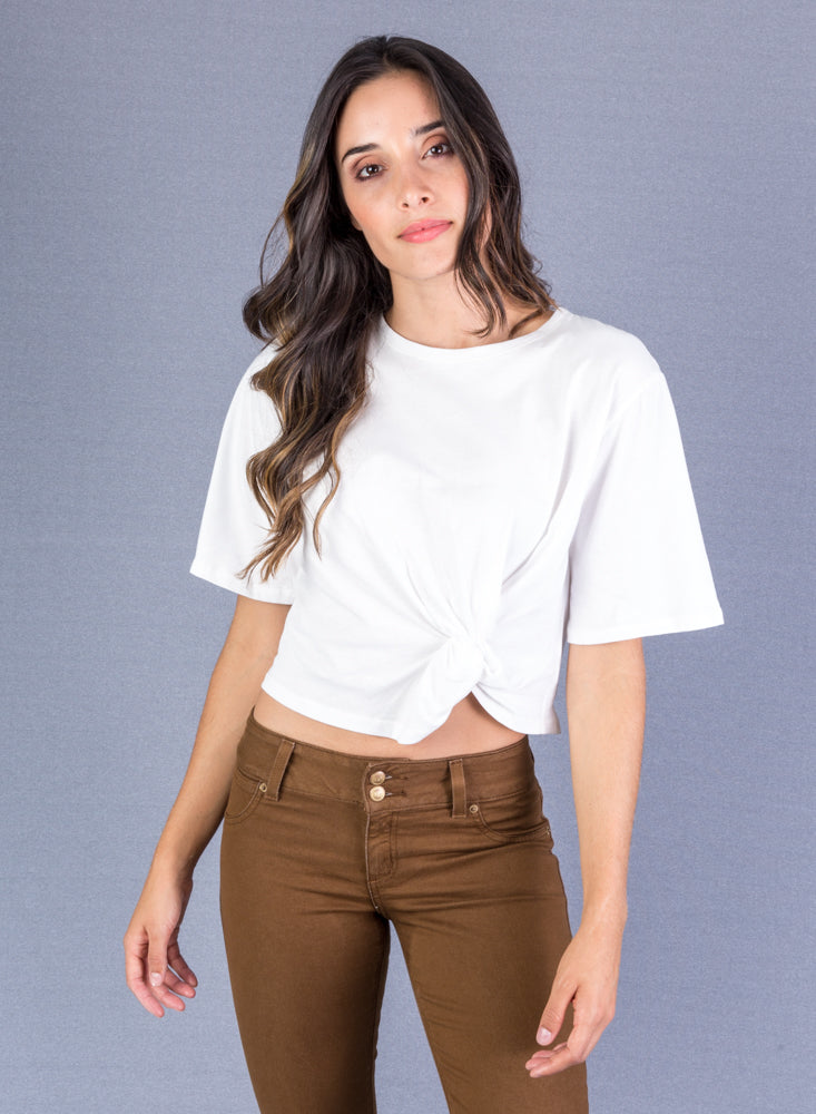 T-Shirt Mujer Color Blanco