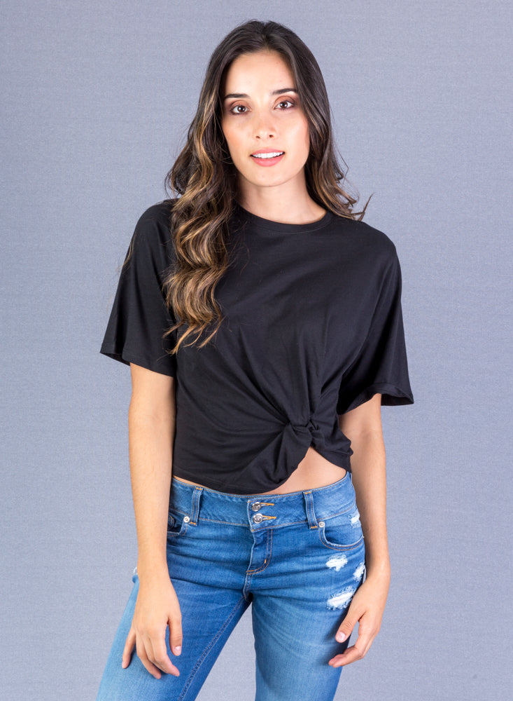 T-Shirt Mujer Color Negro