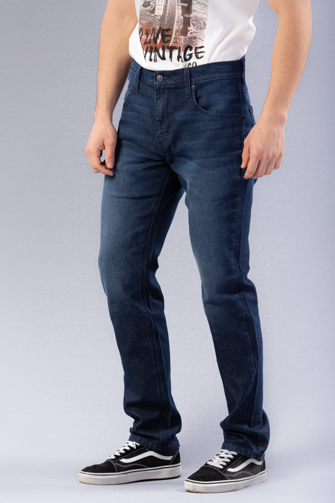 Jean Hombre Super Slim Color Azul Sostenible