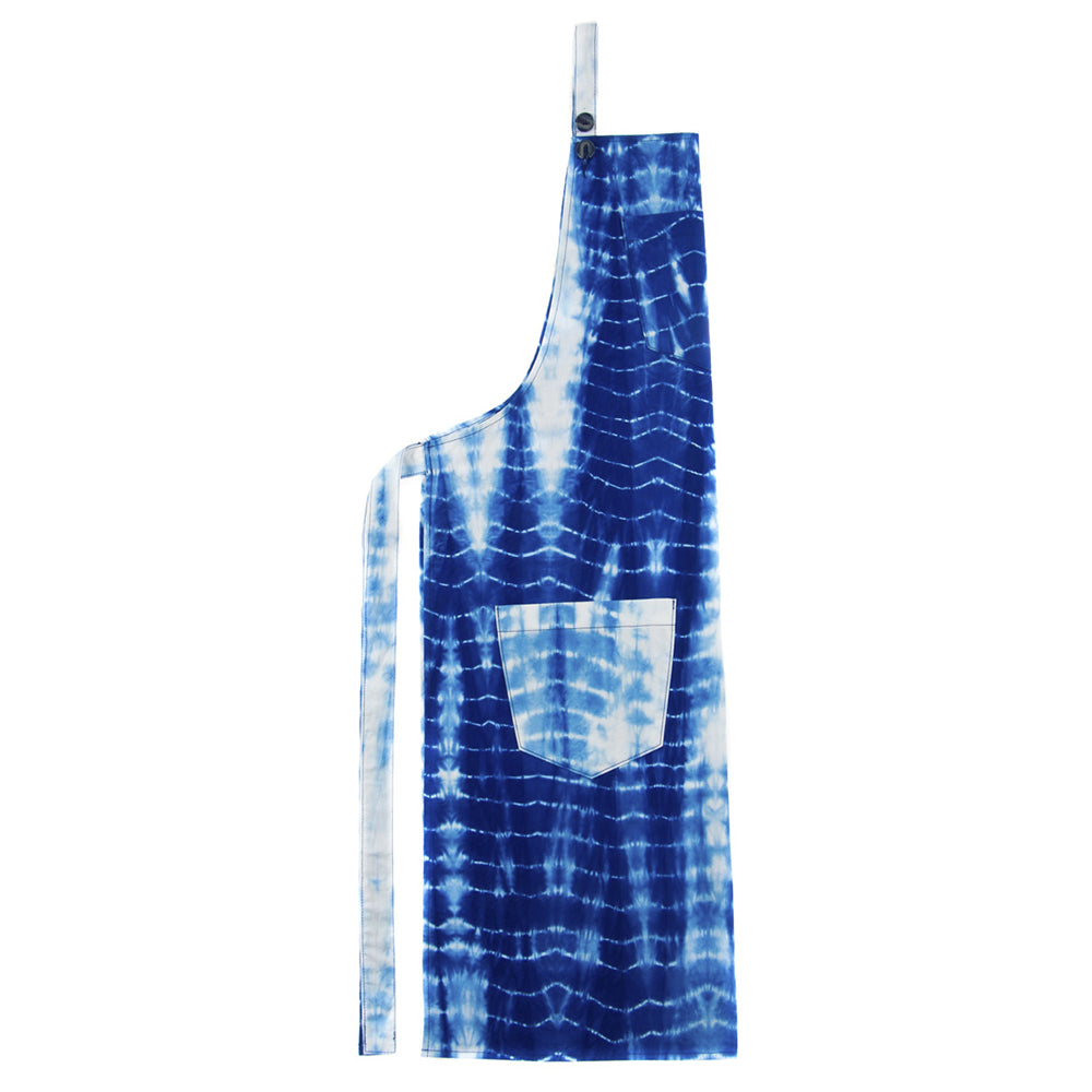 Delantal Tie Dye Color Azul