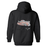 Rule(s) The Road Winged Wheel Personalized Hoodie