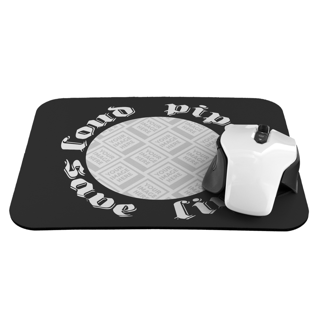 Loud Pipes Save Lives Custom Personalized Mousepad