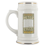 My Garage Motorcycle Shop Custom Personalized Beer Stein