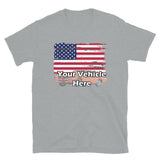 American Flag Personalized Short Sleeve T-Shirt