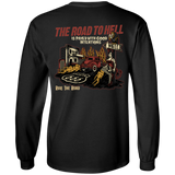 The Road To Hell Hot Rod Mens Long Sleeve T-Shirt