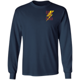 Lean Into It Mens Long Sleeve T-Shirt