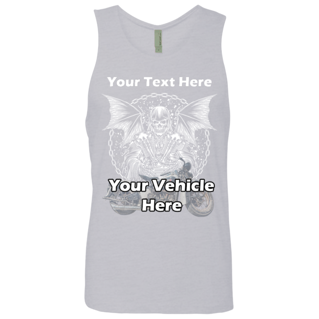Grim Reaper Personalized Men's Tank Top