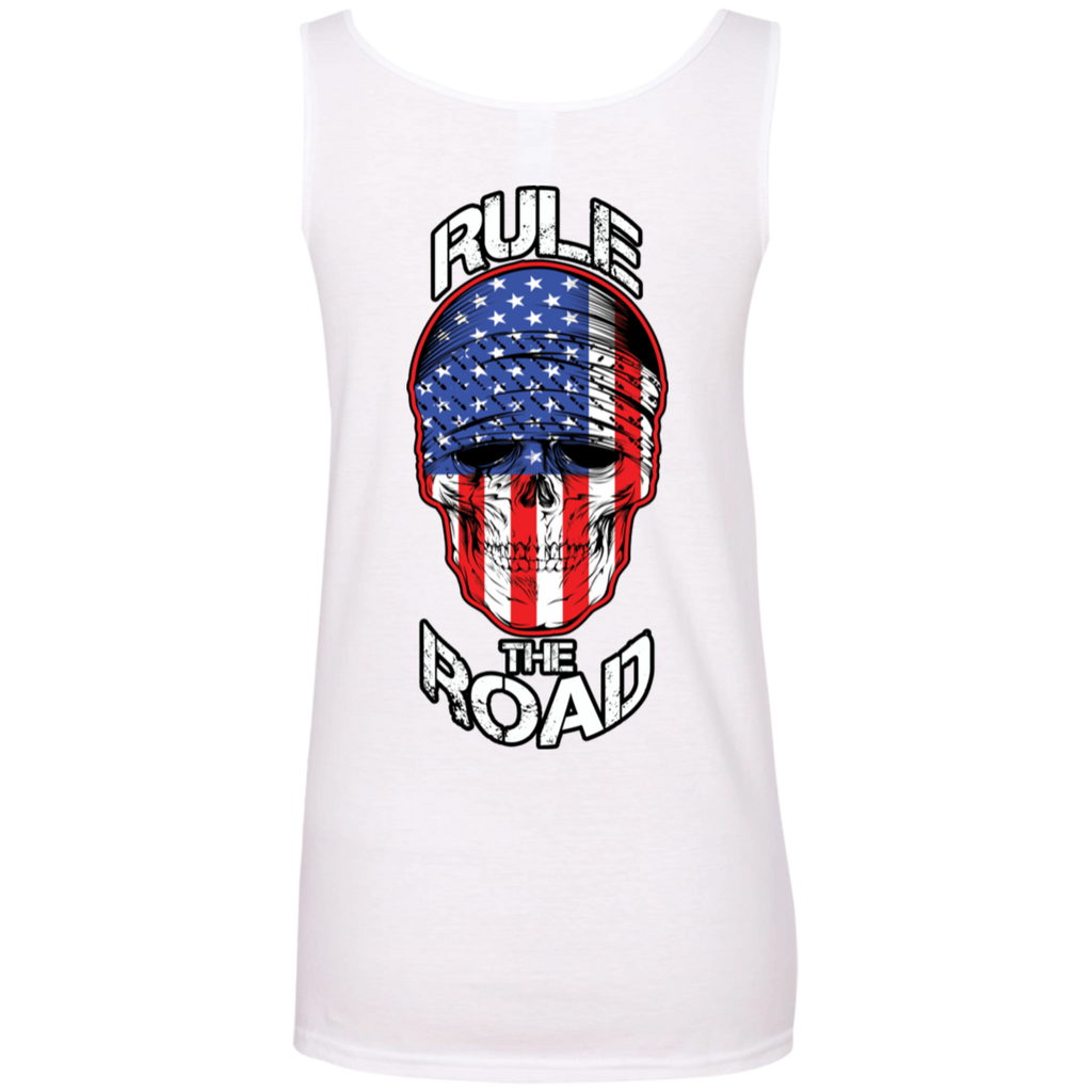 American Skull Ladies Scoopneck Tank Top