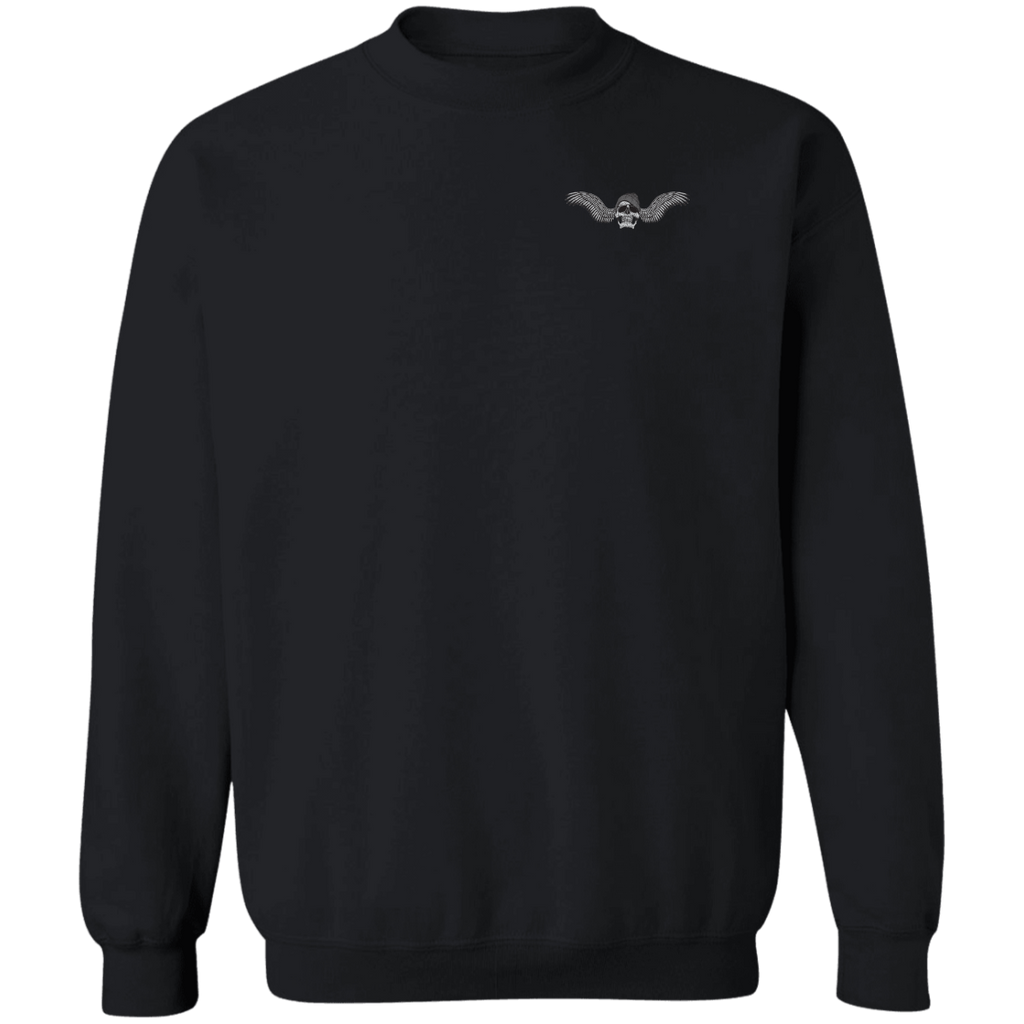 Freedom Is Why I Ride Pullover Crewneck Sweatshirt
