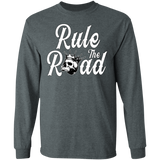 Rule The Road OG Logo Mens Long Sleeve T-Shirt
