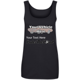 Rule(s) The Road Personalized Women's Scoopneck Tank Top