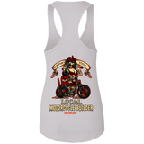Support Your Local Motorcycle Builder Ladies Ideal Racerback Tank Top