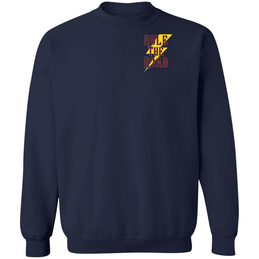 Support Your Local Motorcycle Builder Pullover Crewneck Sweatshirt