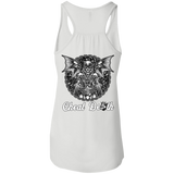 Cheat Death Ladies Flowy Racerback Tank