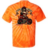 Troublemaker Motorcycle Tie Dye Short Sleeve T-Shirt