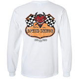 Speed Demon Mens Long Sleeve T-Shirt