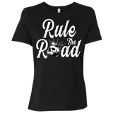 Rule The Road OG Logo Ladies Relaxed Fit Short Sleeve T-Shirt