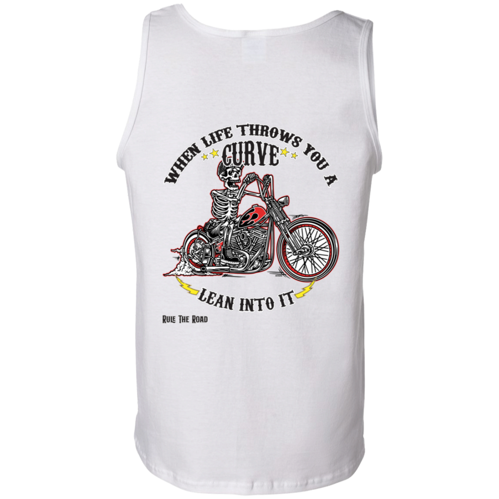 When Life Throws You A Curve Mens Tank Top