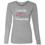 It's Not Just A Hobby, It's My Escape From Reality Personalized Women's Long Sleeve T-Shirt
