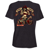 Troublemaker Hot Rod Ladies Relaxed Fit Short Sleeve T-Shirt