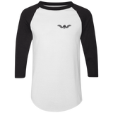 Freedom Is Why I Ride Mens 3/4 Sleeve Raglan Jersey